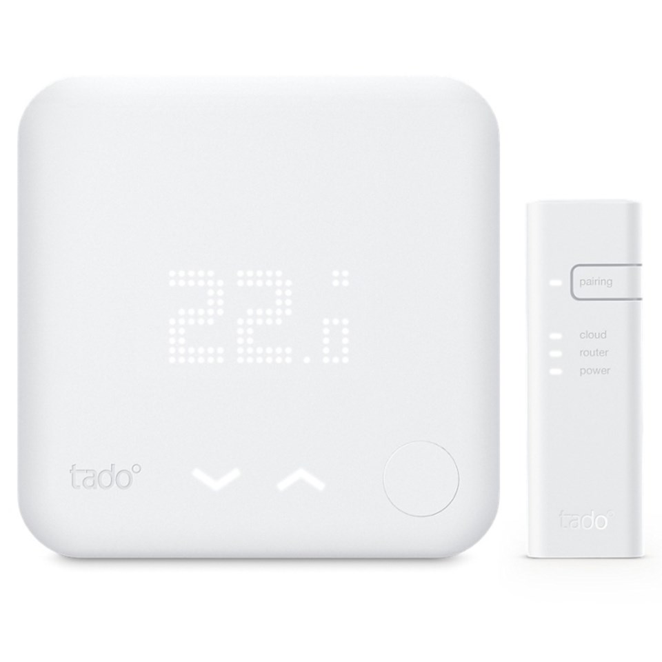 Smarta hem - Tado termostat